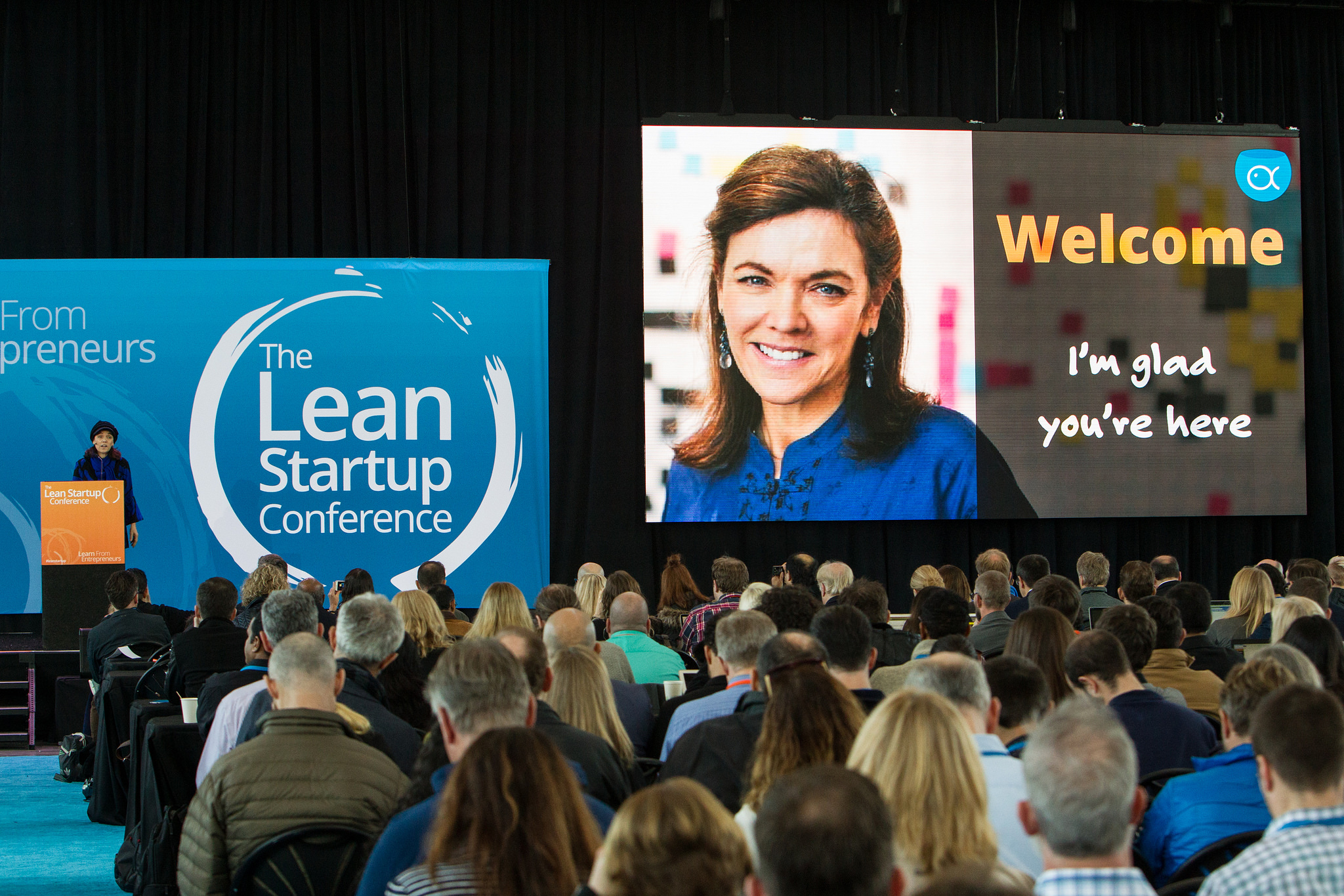Photo by The Lean Startup Conference/Jakub Mosur and Erin Lubin